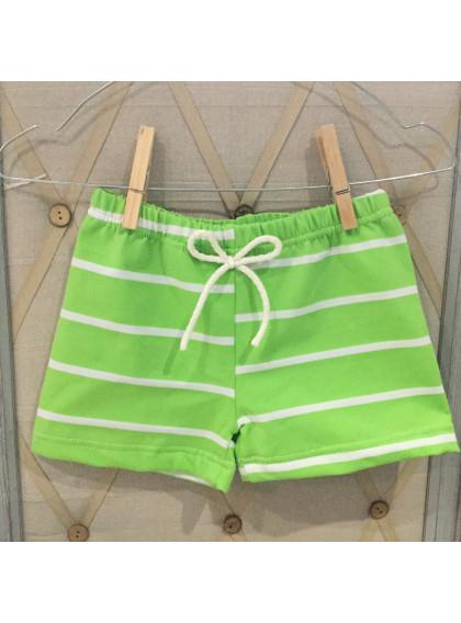 Bóxer Licra Green strips